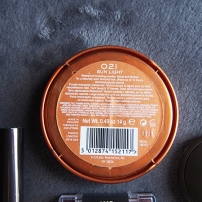 Rimmel London Natural Bronzer in 021 Sun Light
